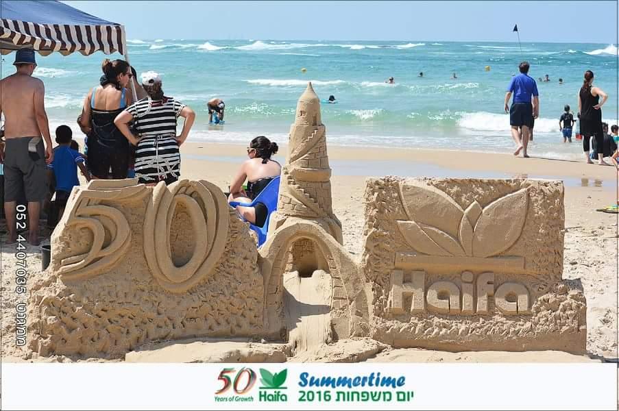 סדנת ארמונות בחול לחיזוק גאוות הייחידה