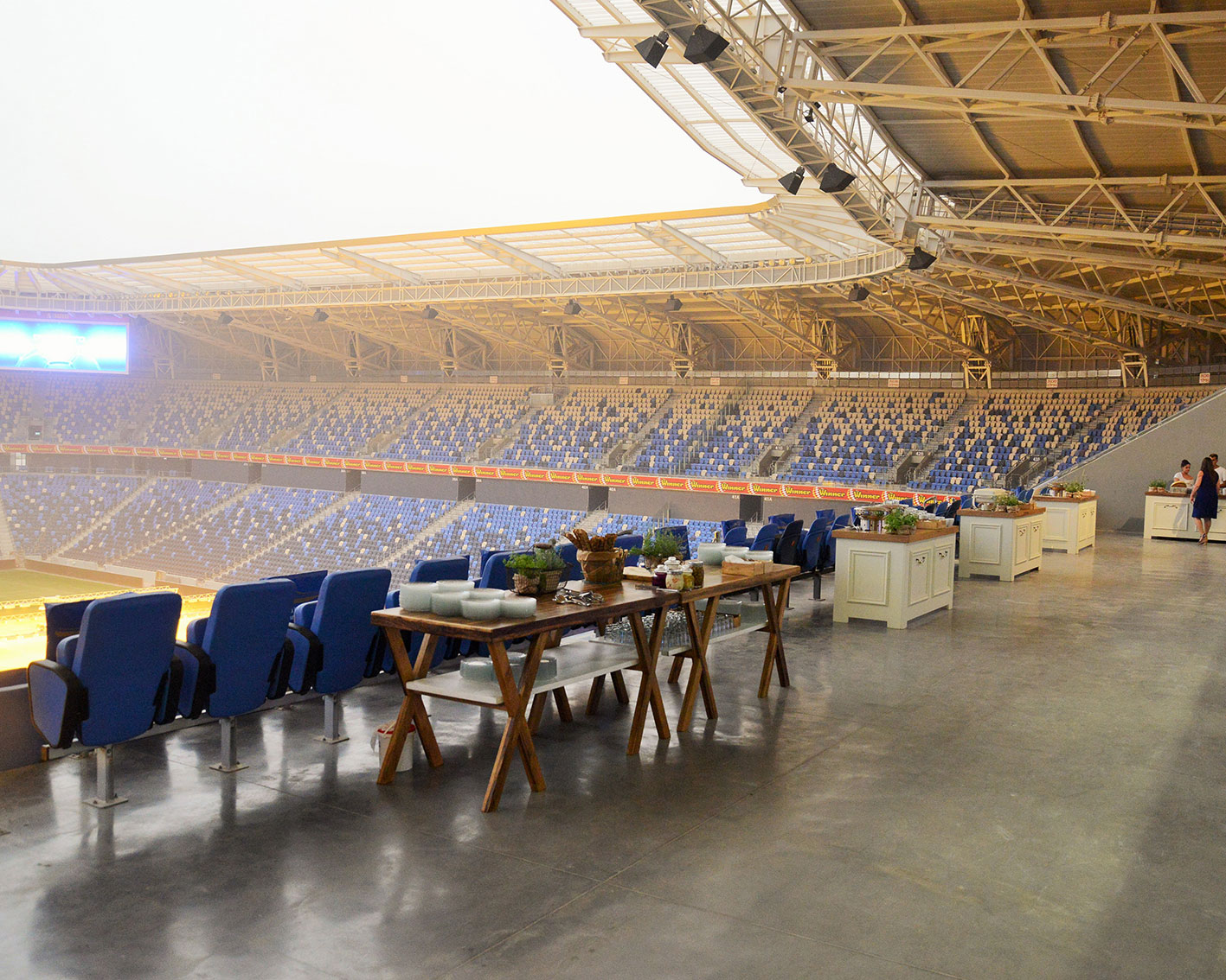 האיצטדיון לוקיישן המושלם לארוע