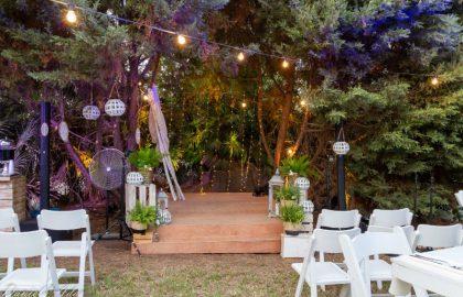 גל וניתאי – חתונה בחצר הביתית בימי קורונה
